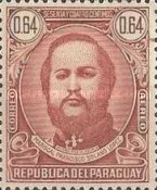 [Airmail - The 120th Anniversary of the Birth of Marshal Francisco S. Lopez, 1827-1870, type MC1]