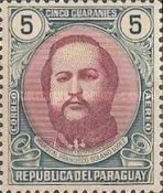 [Airmail - The 120th Anniversary of the Birth of Marshal Francisco S. Lopez, 1827-1870, type MC3]