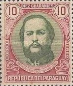 [Airmail - The 120th Anniversary of the Birth of Marshal Francisco S. Lopez, 1827-1870, type MC4]