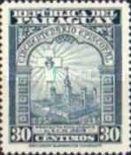 [Airmail - The 50th Anniversary of Archbishopric of Paraguay, type MI]