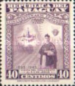 [Airmail - The 50th Anniversary of Archbishopric of Paraguay, type MJ]