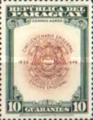 [Airmail - The 50th Anniversary of Archbishopric of Paraguay, type MO]