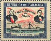 [Ships - he 100th Anniversary of Paraguay's Merchant Fleet, Typ MR1]