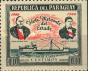 [Ships - he 100th Anniversary of Paraguay's Merchant Fleet, Typ MR2]