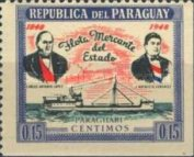 [Ships - he 100th Anniversary of Paraguay's Merchant Fleet, Typ MR3]
