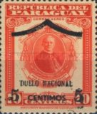 [Airmail - National Mourning for Archbishop of Paraguay - Overprinted