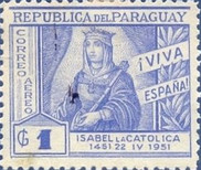 [Airmail - The 500th Anniversary of the Birth of Queen Isabella the Catholic, 1451-1504, Typ NC]