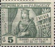 [Airmail - The 500th Anniversary of the Birth of Queen Isabella the Catholic, 1451-1504, type NC2]