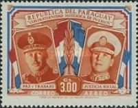 [Airmail - Brotherhood of Paraguay and Argentina, Typ NJ2]