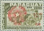 [Airmail - Issues of 1955 Overprinted with Star Enclosed by Palm Leaves and Surcharged, type OG1]