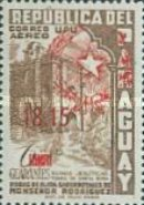 [Airmail - Issues of 1955 Overprinted with Star Enclosed by Palm Leaves and Surcharged, type OG2]