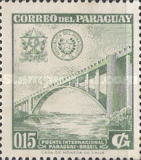 [Inauguration of International Bridge between Brazil and Paraguay, Typ PI]