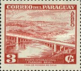 [Airmail - Inauguration of International Bridge between Brazil and Paraguay, type PJ]
