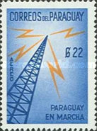 [Airmail - Paraguayan Progress - Inscribed