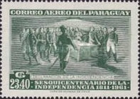 [Airmail - The 150th Anniversary of Independence, Typ PU2]