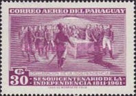 [Airmail - The 150th Anniversary of Independence, Typ PU3]