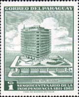 [The 150th Anniversary of Independence - Hotel Guarani, Typ QA1]