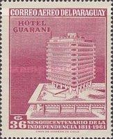 [Airmail - The 150th Anniversary of Independence - Hotel Guarani, Typ QB3]