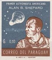 [Alan B. Shepard - First US Astronaut, New Colors, Typ QF4]