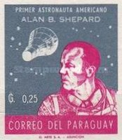 [Alan B. Shepard - First US Astronaut, New Colors, Typ QF5]