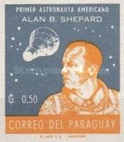 [Alan B. Shepard - First US Astronaut, New Colors, Typ QF6]