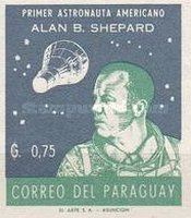 [Alan B. Shepard - First US Astronaut, New Colors, Typ QF7]