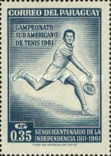 [The 150th Anniversary of Independence and the 28th South American Tennis Championships, Asuncion, Typ QN]