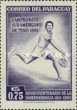 [The 150th Anniversary of Independence and the 28th South American Tennis Championships, Asuncion, Typ QN1]
