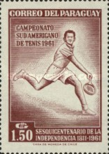 [The 150th Anniversary of Independence and the 28th South American Tennis Championships, Asuncion, Typ QN2]