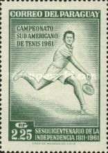[The 150th Anniversary of Independence and the 28th South American Tennis Championships, Asuncion, Typ QN3]