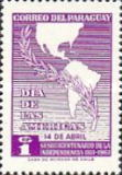 [The 150th Anniversary of Independence - Day of the Americas, Typ QU2]