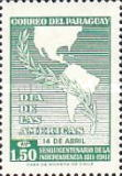 [The 150th Anniversary of Independence - Day of the Americas, Typ QU3]