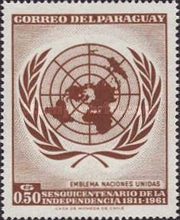 [The 150th Anniversary of Independence - U.N.O., Typ QV]