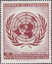 [The 150th Anniversary of Independence - U.N.O., Typ QV1]