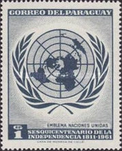 [The 150th Anniversary of Independence - U.N.O., Typ QV2]