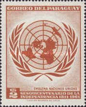 [The 150th Anniversary of Independence - U.N.O., Typ QV3]
