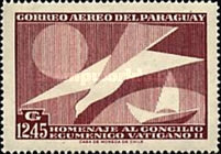 [Airmail - The Second Vatican Ecumenical Council, Typ RY2]
