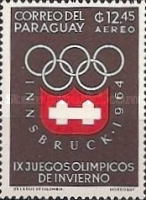 [Airmail - Winter Olympic Games - Innsbruck 1964, Austria, Typ TL]