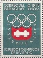 [Airmail - Winter Olympic Games - Innsbruck 1964, Austria, Typ TL1]