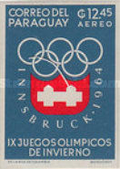 [Airmail - Winter Olympic Games - Innsbruck 1964, Austria, Typ TL3]