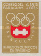 [Airmail - Winter Olympic Games - Innsbruck 1964, Austria, Typ TL4]