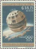 [Airmail - Space Exploration and Olympic Games - Tokyo, Japan, Typ UB1]