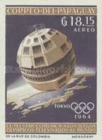 [Airmail - Space Exploration and Olympic Games - Tokyo, Japan, Typ UB4]