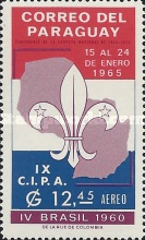 [Airmail - Boy Scouts Movement, Typ WA]