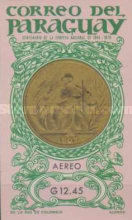 [Airmail - Medals and Coins of Paraguay and the Olympic Games in Tokyo 1964, Typ WT1]