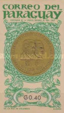[Medals and Coins of Paraguay and the Olympic Games in Tokyo 1964, Typ WU]