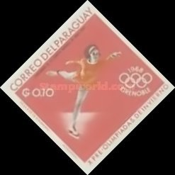 [Airmail - World Ski Championships - Portillo, Chile and Winter Olympic Games - Grenoble, France 1968, Typ XBE2]