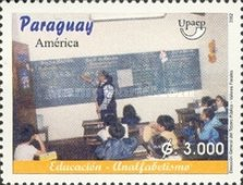 [America - Combating Illiteracy, type XLP]