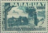 [Airmail - The 25th Anniversary of Sacerdotal of Agustin Rodriguez, 1900-1968 - Jesuit Ruins, Typ XNK]
