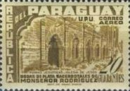 [Airmail - The 25th Anniversary of Sacerdotal of Agustin Rodriguez, 1900-1968 - Jesuit Ruins, Typ XNP]